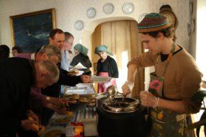 Picture of soup serving Soppmässan