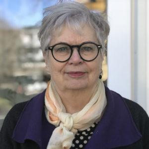 Bild på Margaretha S Paras, direktor Uppsala Stadsmission