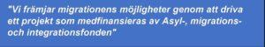 Bild på citat om AMIFprojektet