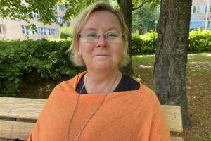 Bild på Christina från Livsberättargruppen